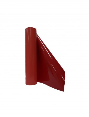heat transfer flock film in red for cutting plotter