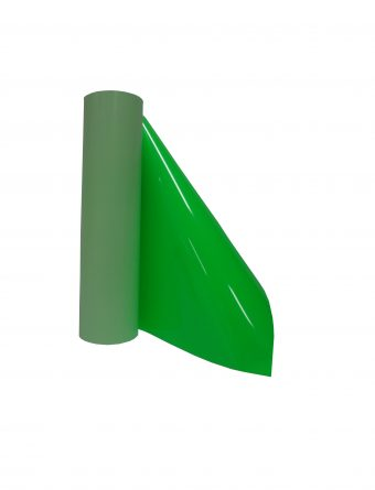 roll of smooth transfer film for cutting machine in neon green color