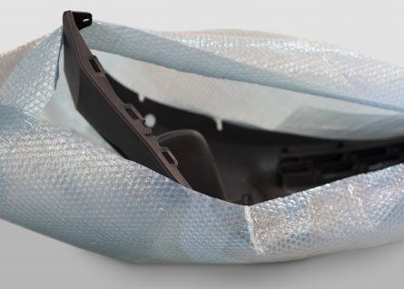Bolha plastic bags personalized for protection of peças do setor automotivo