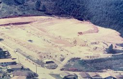 aerial image of the 5 estrelas papeis e embalagens's land before the structure was built.